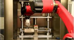 微孔抛光机+机械手臂自动抛光视频